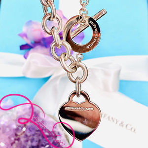 Tiffany & Co. Jewelry - NWOT T&Co. Return to Tiffany Heart Toggle Bracelet